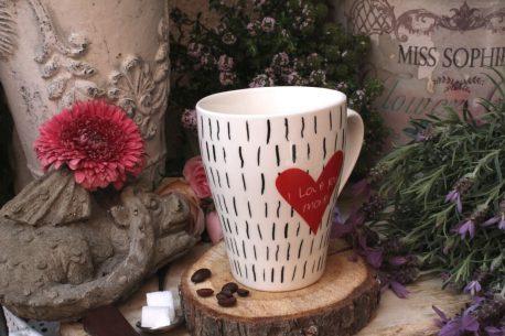 Sprüche Tasse Kaffeebecher Spruch I love you more
