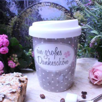 Mea Living Coffee To Go Becher Ein großes Dankeschön