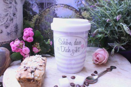 Mea Living Coffee To Go Becher Schön dass es Dich gibt