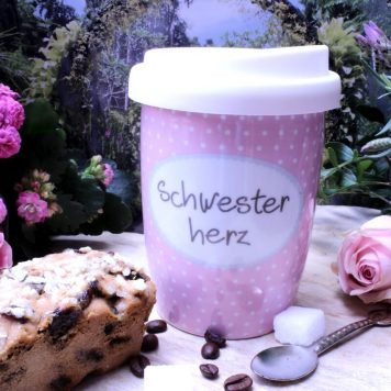 Mea Living Coffee To Go Becher Schwesterherz