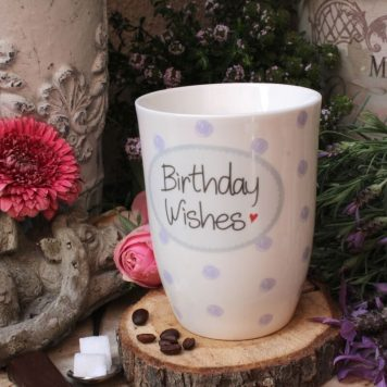 Mea Living Henkelbecher Birthday Wishes