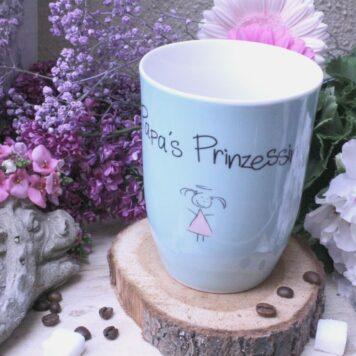 Mea Living Henkelbecher Papa`s Prinzessin