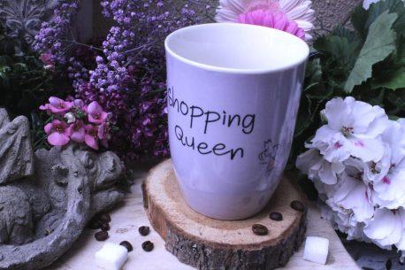 Mea Living Henkelbecher Shopping Queen