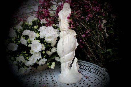 Wunderschöne zarte Meerjungfrau Figur