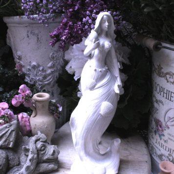 Meerjungfrau Figur Nixe Muschel