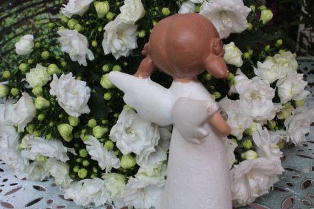 Schutzengel Engelfigur Mädchen klein