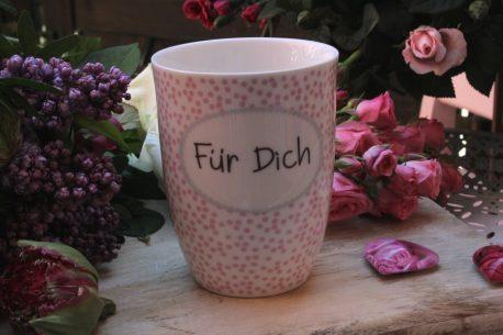 Sprüche Tasse Henkeltasse Kaffeebecher Für Dich