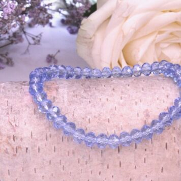 Armband Lichtfarbe Aqua