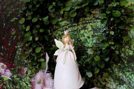 Dekofigur Blütenfee Prinzessin Hände unten