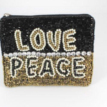 Hoff Interieur Perlentäschchen Love Peace