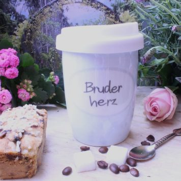 Mea Living Coffee To Go Becher Bruderherz