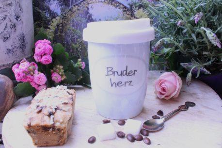 Mea Living Coffee To Go Becher Bruderherz