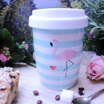 Mea Living Coffee To Go Becher Flamingo Herz