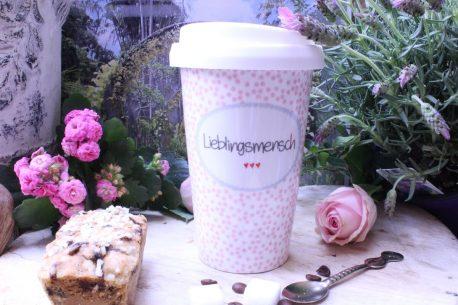 Mea Living Coffee To Go Becher Lieblingsmensch