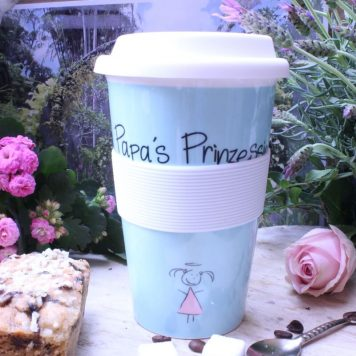 Mea Living Coffee To Go Becher Papa's Prinzessin