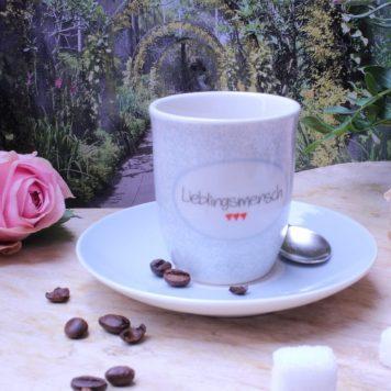 Mea Living Espressotasse Lieblingsmensch