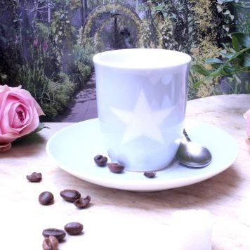 Mea Living Espressotasse Stern bleu