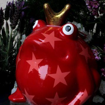 Pomme Pidou Spardose Frosch Freddy Rot