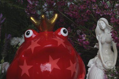 Pomme Pidou Spardose Frosch Freddy & Meerjungfrau