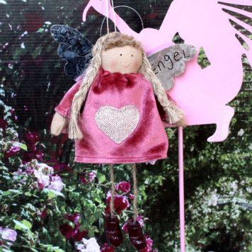 Schutzengel Cyntia Nickikleidchen mit Herz