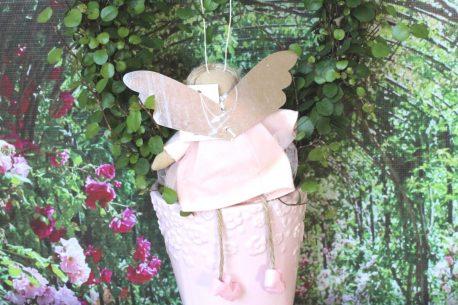 Schutzengel Emma im zartrosa Tüllkleidchen