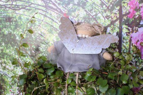 Schutzengel Lissi Leinenkleidchen mit Tüll