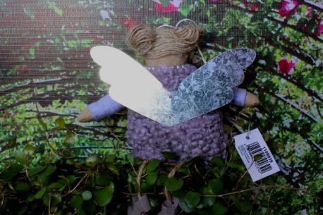 Schutzengel Uta im Wollkleidchen