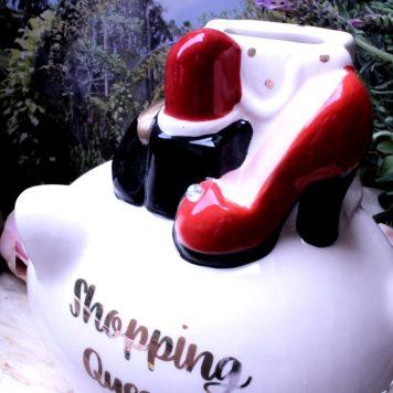 Spardose Shopping Queen Glücksschwein
