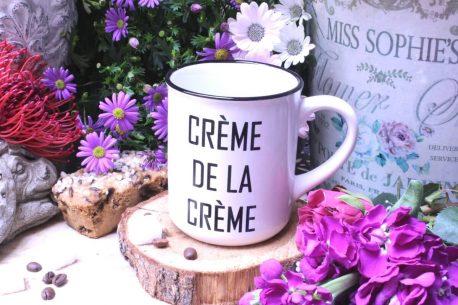 Sprüche Tasse Henkelbecher Spruch Creme De La Creme