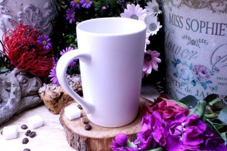 Sprüche Tasse Henkelbecher mit Spruch Love