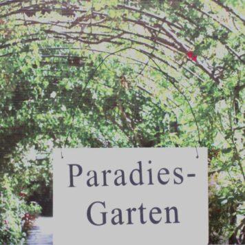 Deko Holzschild Lebenssprüche Aufhänger Paradiesgarten