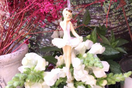Deko Figur Ballerina Dekohänger