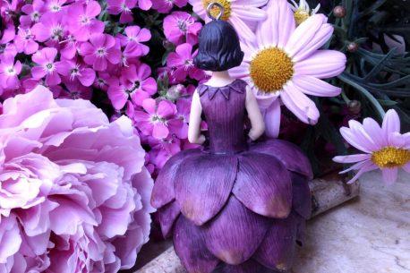 Deko Figur Dekohänger Blumenmädchen zum Hängen