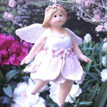 Deko Figur Fee Dekohänger Blumenmädchen Mary