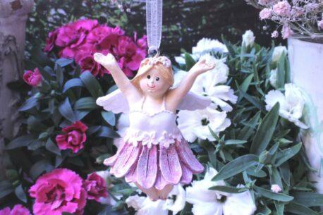 Deko Figur Fee Dekohänger Blumenmädchen Sunny