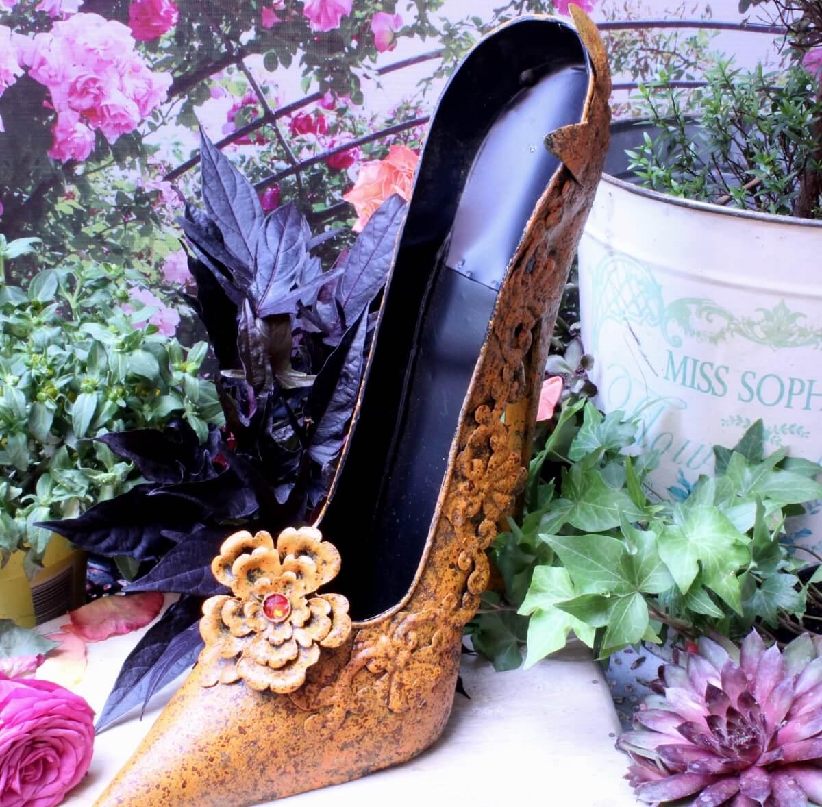Deko High Heel Schuh Magisch schön zur Dekoration