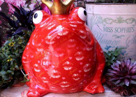 Pomme Pidou Spardose Big Freddy Red Love