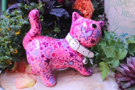 Pomme Pidou Spardose Kitty Pink Herz