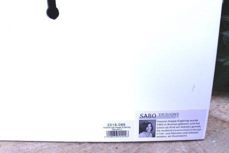 Sabo Design Wandbild Leben heisst jeden Tag einige Punkt