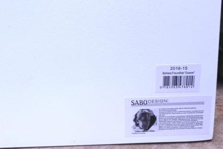Sabo Design Wandbild Spruch Bei mir sitzt jedes Gramm, Wo es soll !
