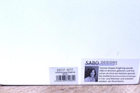 Sabo Design Wandbild Spruch Vorsätze sind gut, Ausdauer ist besser
