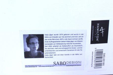 Sabo Design Wandbild Spruch Wolke 7 reserviert