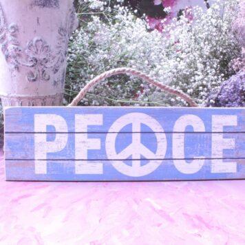 Deko Holzschild Coole Designs Peace