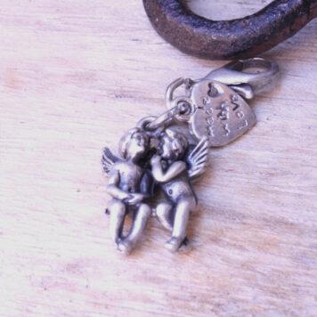 Hevi Schlüsselanhänger Taschenanhänger Engelpaar