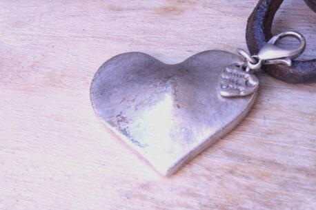 Hevi Schlüsselanhänger Taschenanhänger Herz klein