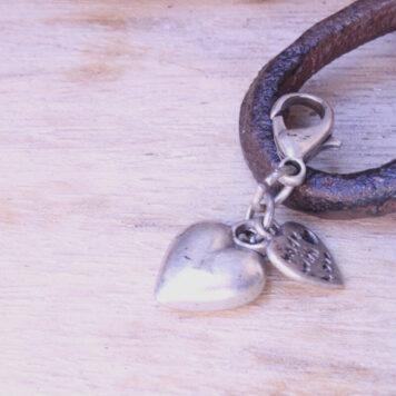 Hevi Schlüsselanhänger Taschenanhänger Mini Herz
