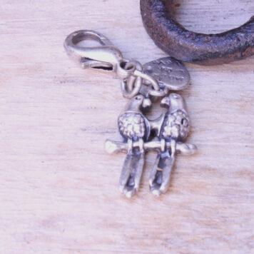 Hevi Schlüsselanhänger Taschenanhänger Vogelpaar