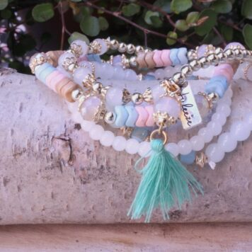 Juleeze Armband Set Mint Gold