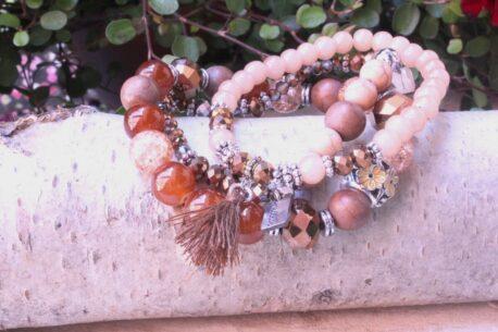 Juleeze Armband Set Perlen Kombi
