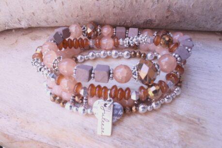 Juleeze Armband Set Perlen Mix